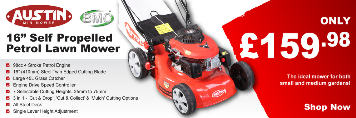 "Austin 16"" Self Propelled Lawn Mower"