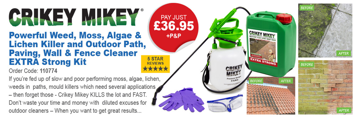 Crikey Mikey Outdoor Cleaning Solution
