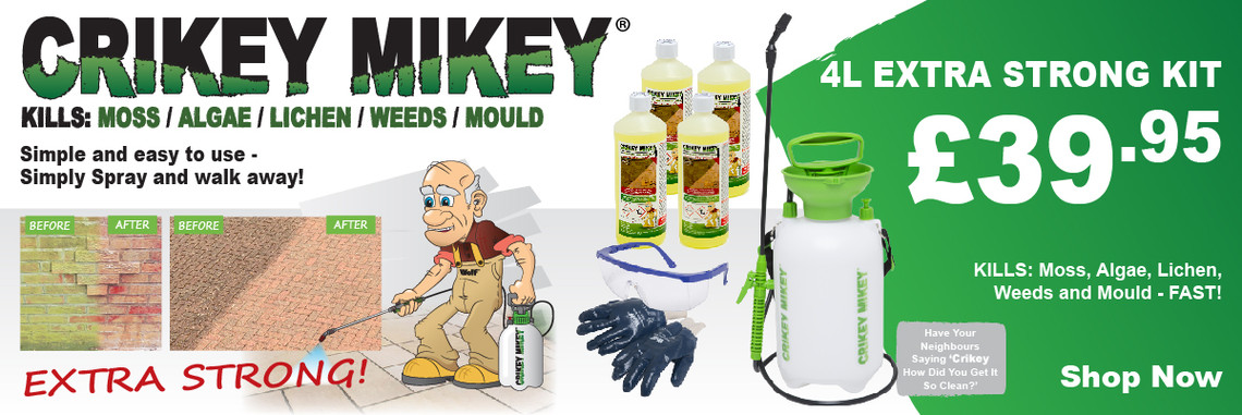 Crikey Mikey Extra Strong Outdoor Cleaning Solution