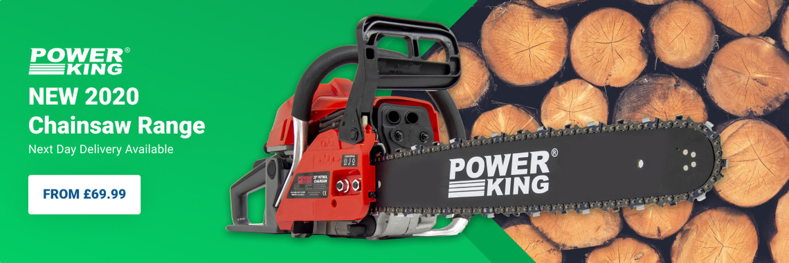 New 2020 Power King Chainsaw Range