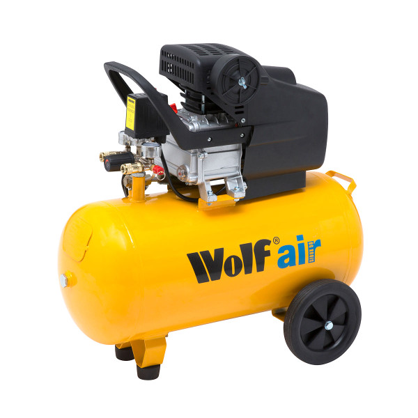 Wolf Sioux 50 2.5HP, 9.6CFM Air Compressor