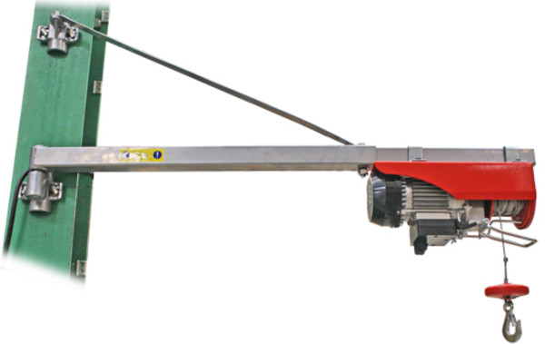 Wolf Swing Arm Hoist Mounting
