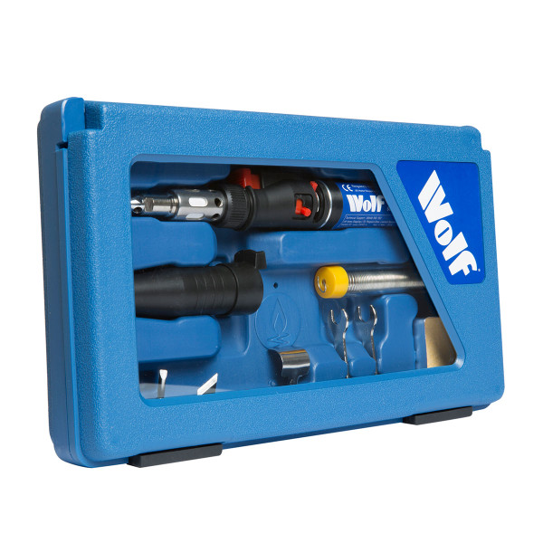 Wolf Cordless 6 in 1 Butane Gas Torch Set