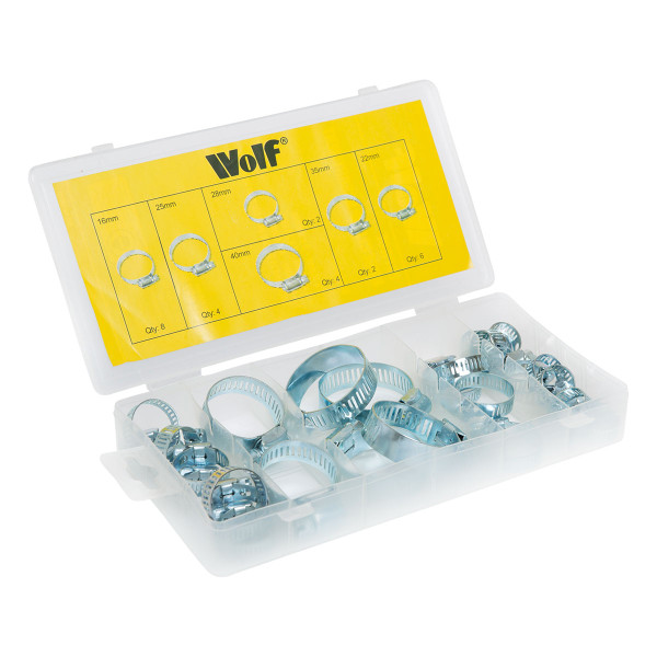 Wolf Hose Clamps - 26pc