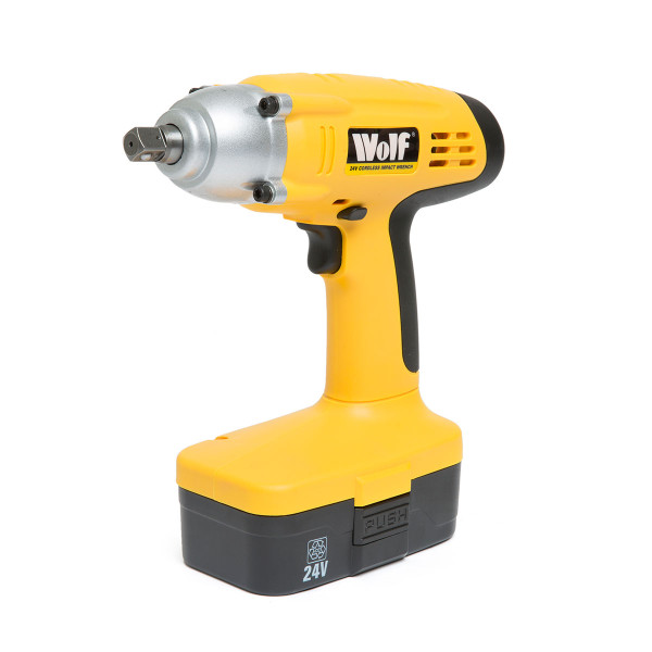 "Wolf 24V Cordless ½"" Square Drive Impact Wrench Kit"