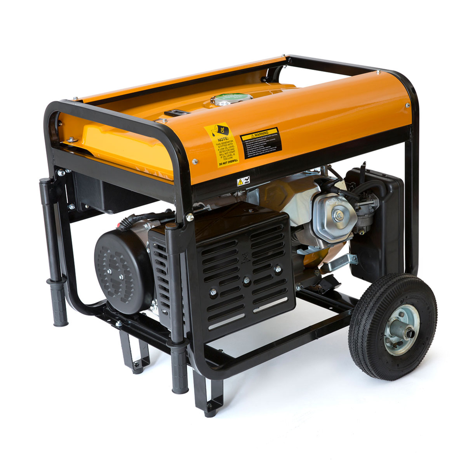Wolf 7000W Petrol Generator with Electric Start System