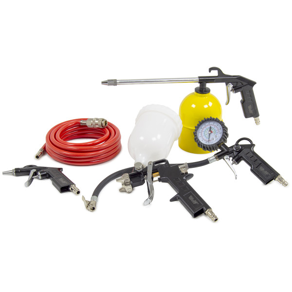 Wolf 5pc Air Tool Spray Kit