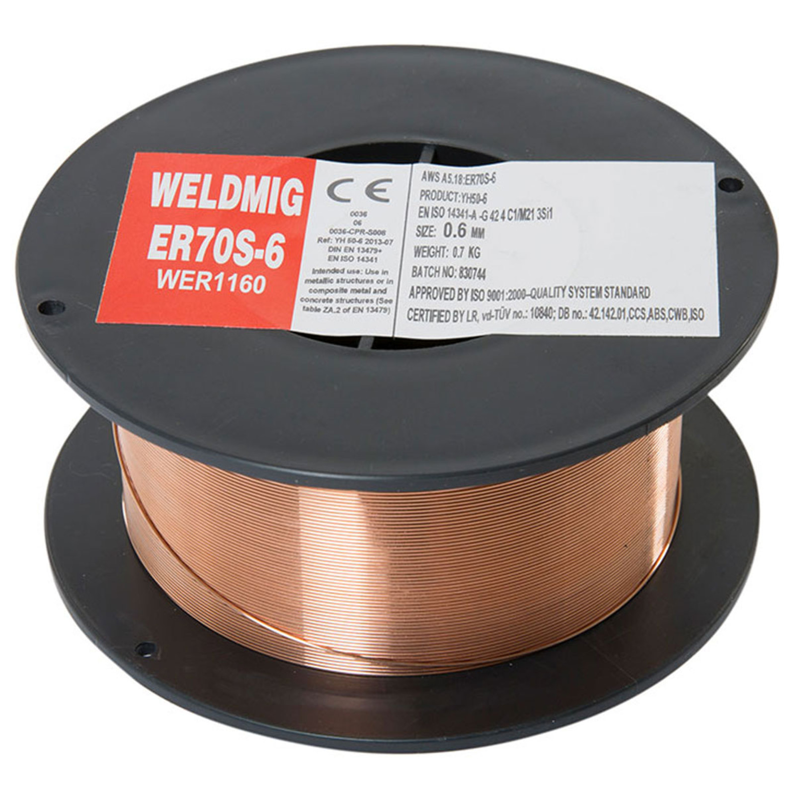 Wolf 0.6mm Welding Wire Copper Coated Spool For MIGs | UKHS.tv Tools ...