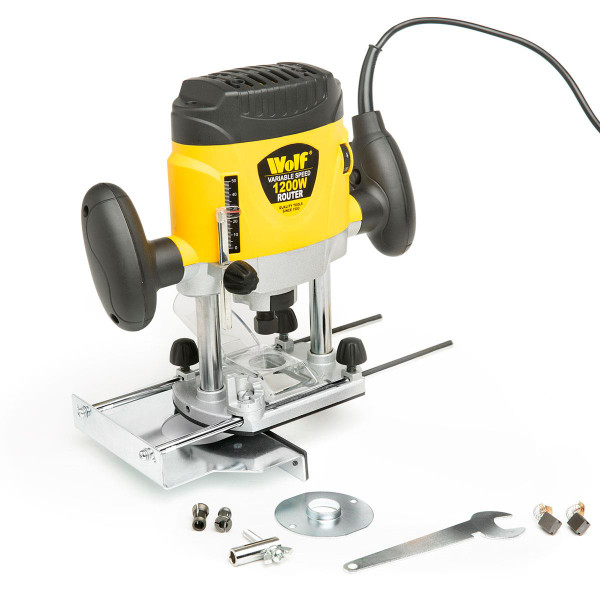 Wolf 1200w Variable Speed Plunge Router
