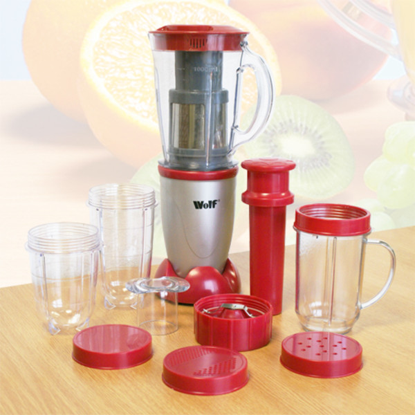 Wolf Food Blender Maxx/Mixer with 9 Fantastic Functions