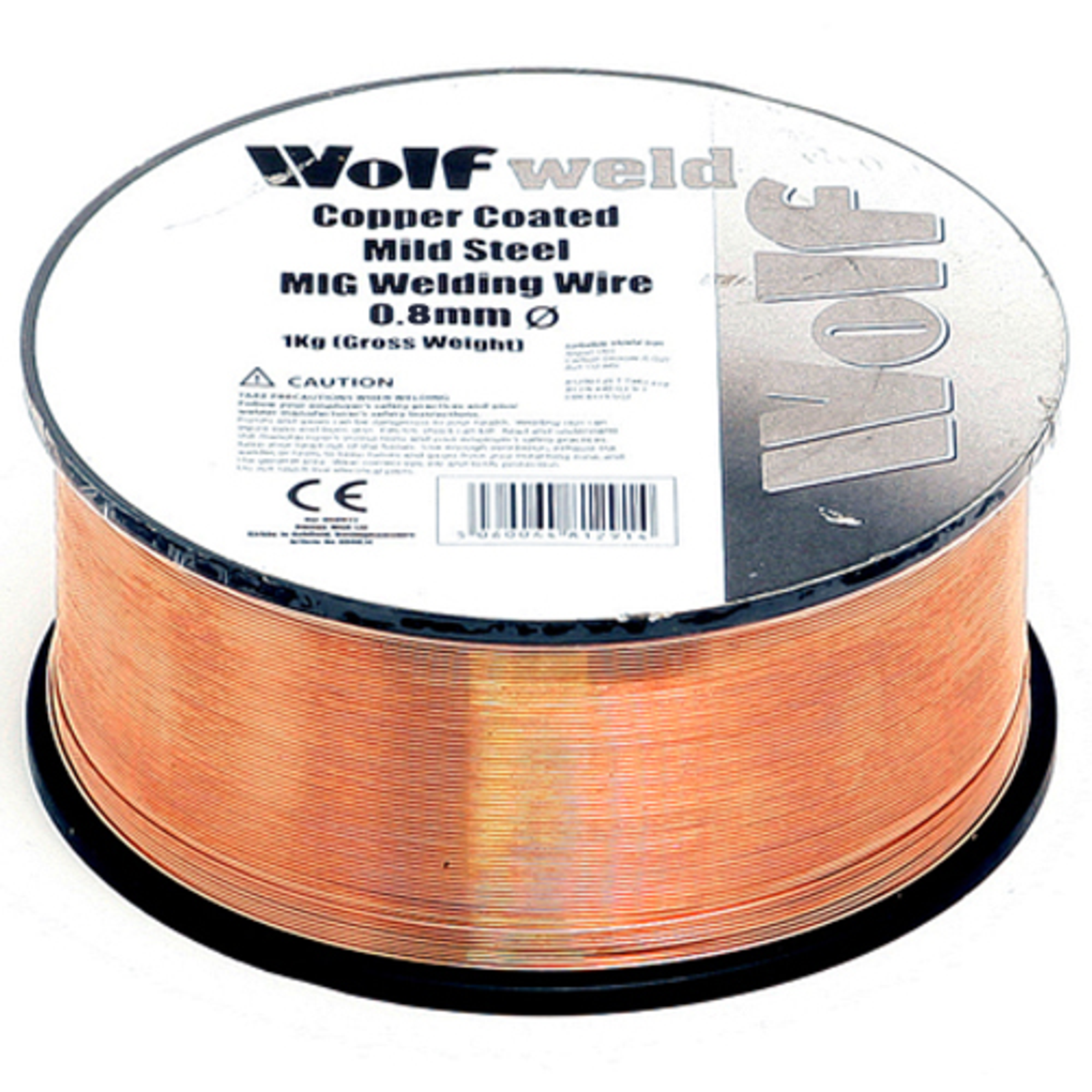 Wolf 0.8mm Welding Wire Copper Coated Spool For MIGs| UKHS.tv Tools ...