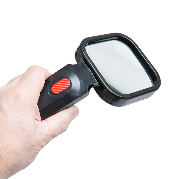 CLEARANCE Magnifying Glass with LED's and Flexi Head