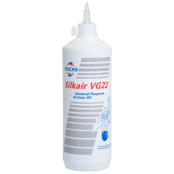 Fuchs Silkair 1 Litre Pneumatic Airline Oil