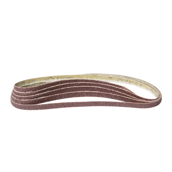Batavia 8mm Wide Sanding Belts - 40 Grit - Pack of 5