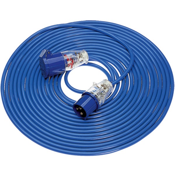 Defender Extension Lead 14m Blue Arctic 1.5mm 16amp 240v