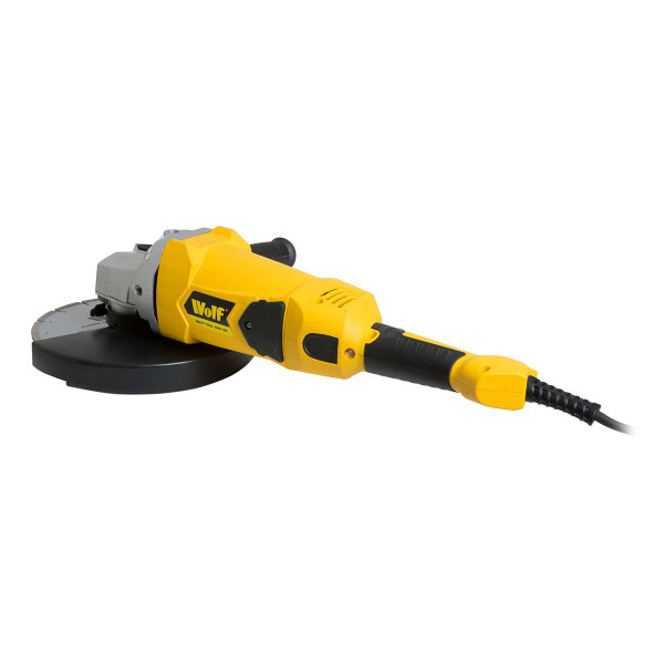 "Wolf 2300w 9"" Angle Grinder"