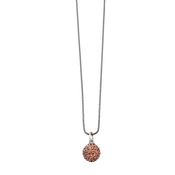 Fiorelli Copper Pave Set Sphere Necklace