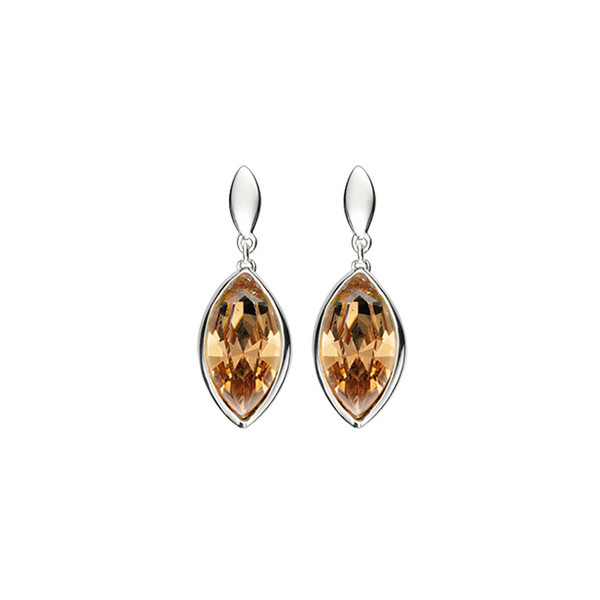 Persona Golden Shadow Swarovski Crystal Drop Earrings