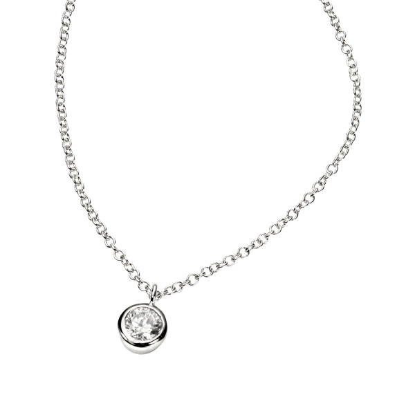 Persona Clear Cubic Zirconia Necklace