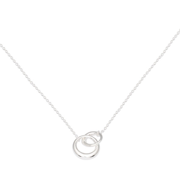 Persona Silver Interlocking Links Necklace
