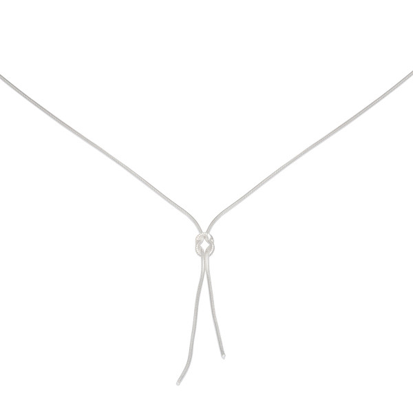 Persona Silver Love Knot Necklace