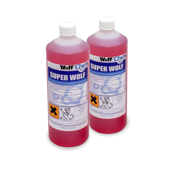 Wolf 2 x 1L Concentrated Grime & Traffic Film Remover