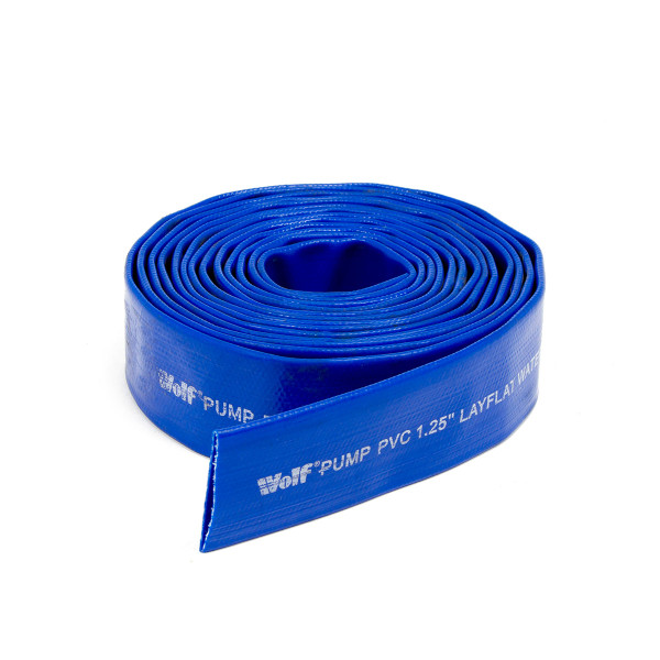 "Wolf 1.25"" Delivery Water Hose - 5 Metres"