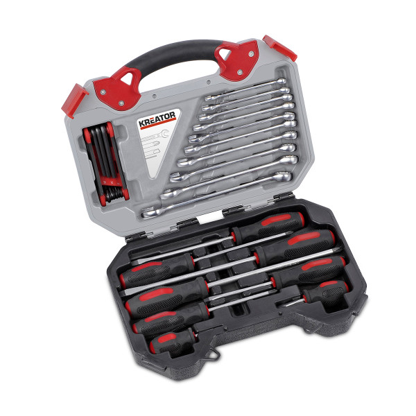 Kreator 26pc Wrench & Screwdriver Set KRT951000
