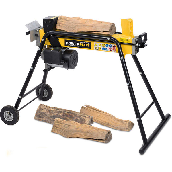 Powerplus 1500w Horizontal Hydraulic 5T Log Splitter POWXG6490