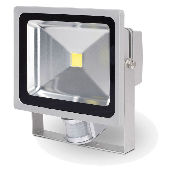 Powerplus 50w LED Luminaire Floodlight w/ Sensor POWLI261