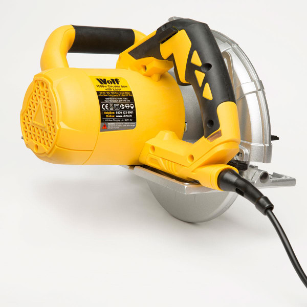 Wolf 185mm, 1600w Circular Saw with Laser Guide