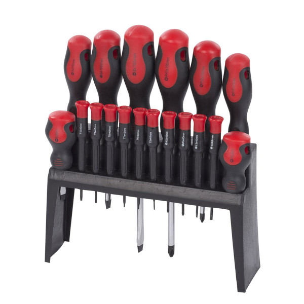 Kreator 18pc Screwdriver / Precision Screwdriver Set KRT400005