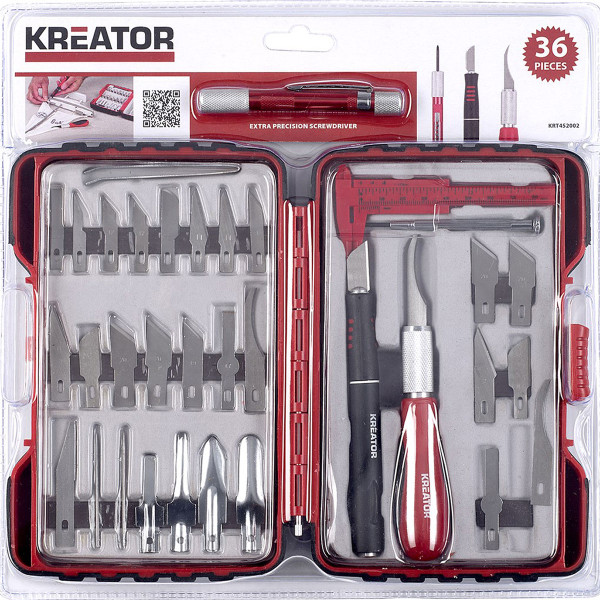 Kreator 36pc Craft / Hobbyist Set KRT452002