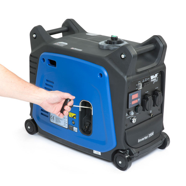 Wolf Professional 3500w Electric Start Petrol Inverter