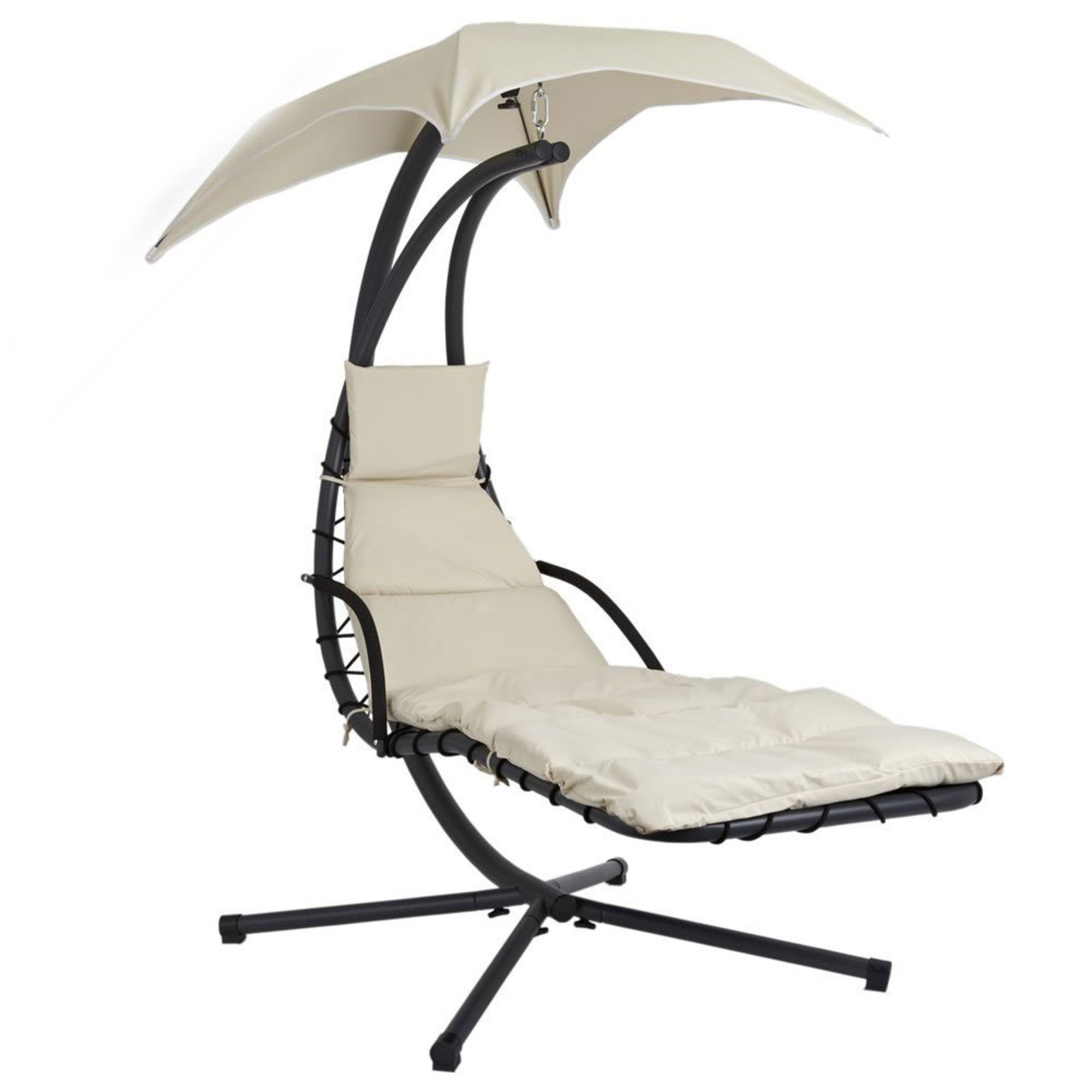 Helicopter Swing Chair Lounger with Cushion