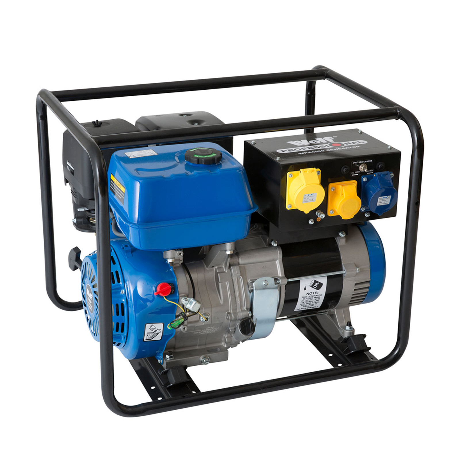 Wolf Pro 5000w Petrol Generator