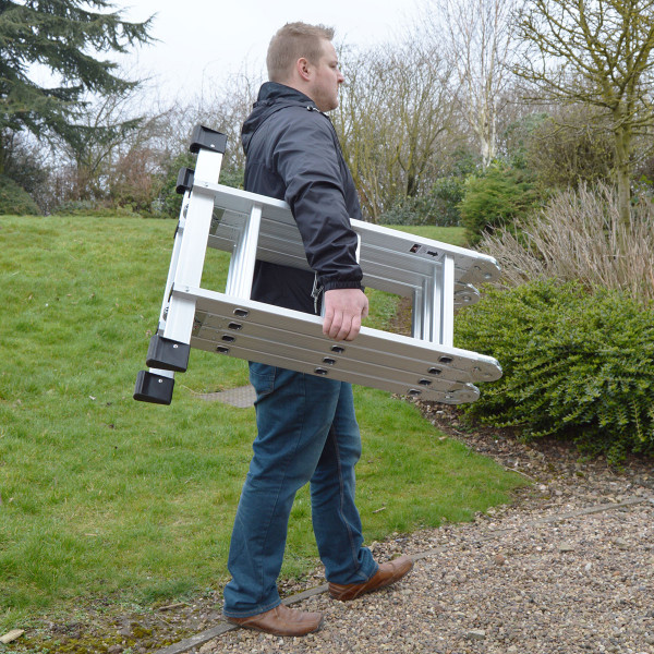 Wolf 11 in 1 Aluminium Folding Ladder