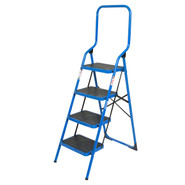 Wolf 4 Step High Back Step Ladder