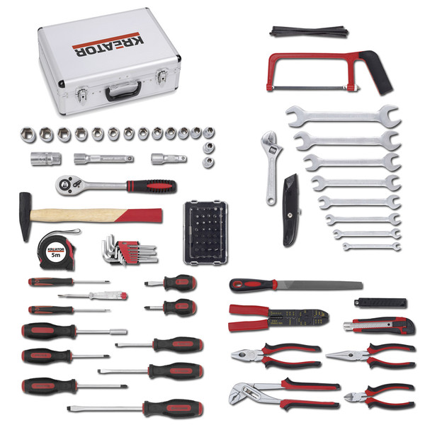 Kreator 109pc Professional Chrome Vanadium Tool Set KRT951002