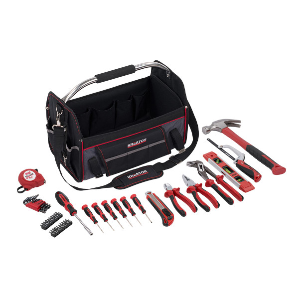 Kreator 47PC Tool Bag & Tool Set