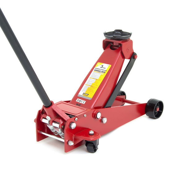 Wolf 3 TONNE Garage Jack with Fast Rising Dual Pistons