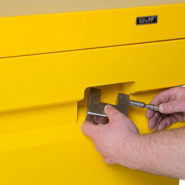 "Wolf 60"" Jobsite Secure Storage Box"