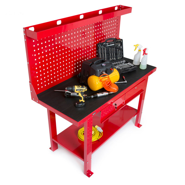 Wolf Work Station / Workbench with Backing Board