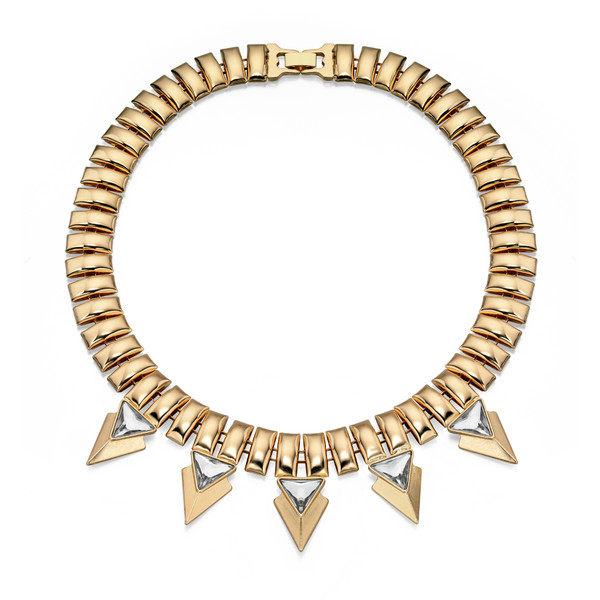 Fiorelli Gold Tone Statement Necklace 47-52cm