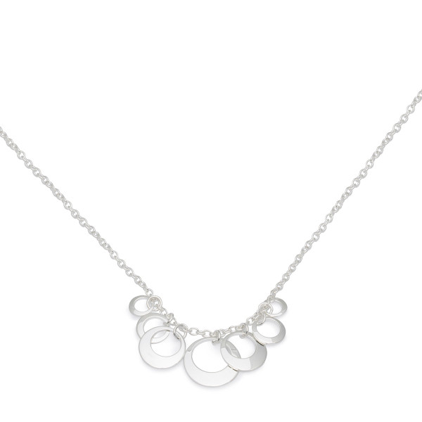 Persona Multi Disc Cluster Necklace