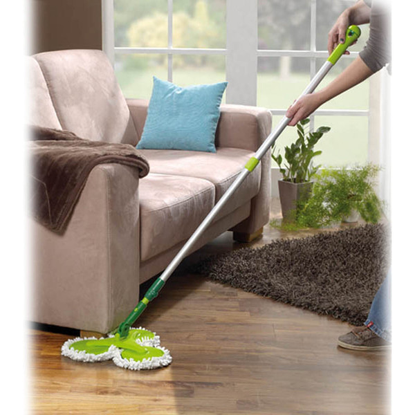 3 Headed Mop with Flexi Handle