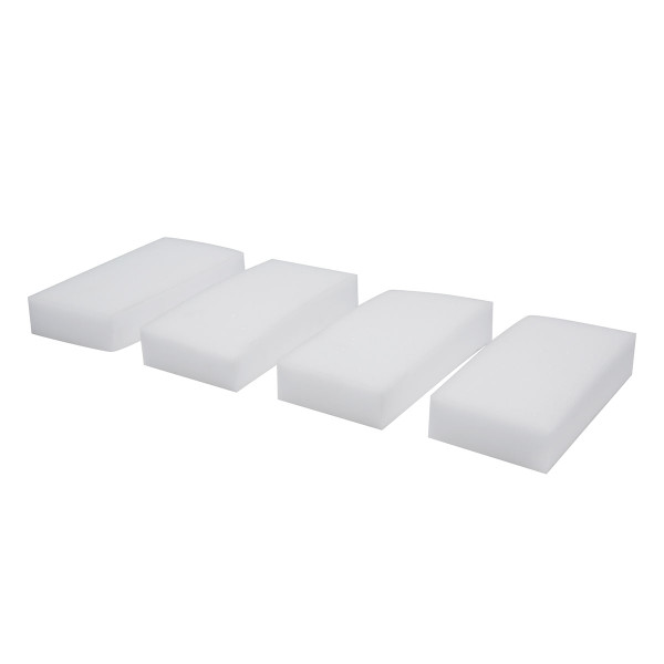 Melamine Eraser Cleaning Blocks, Sponges, Set Of 4