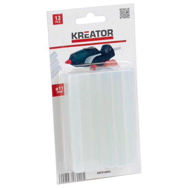 Kreator 12x 11mm Glue Stick KRT310003