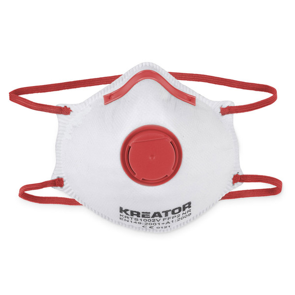 Kreator 2PK Easy Breathing Dust Masks - FFP1 - KRTS1001V