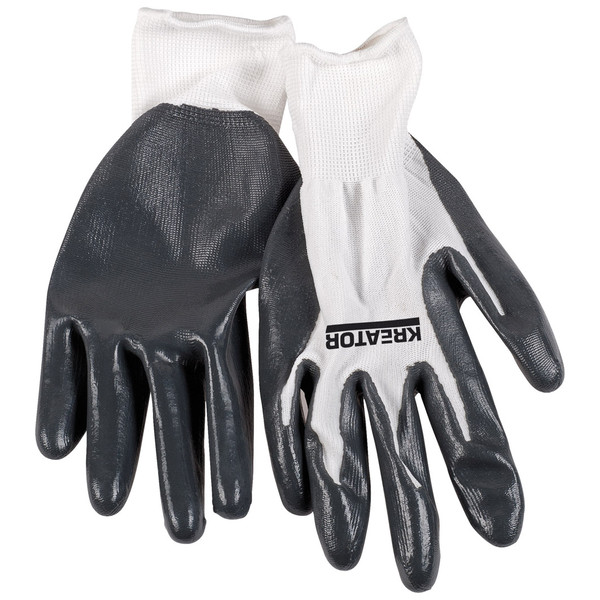 Kreator Industrial Nitrile Coating Gloves - Size 10 KRTW011XL